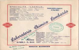 Stampa Farmacologica Laboratorio Chimico Lombardo - Milano - Pubblicitari