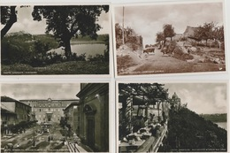 19 / 8 /. 368. -   CASTTEL  GANDOLFO   -  4  VUES  CPSM  DIVERSES - Other Cities
