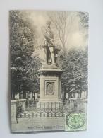 CPA Mons - Statue Roland De Lassus (f) - Mons