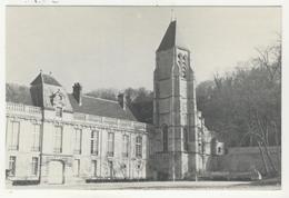 95 - Méry Sur Oise -     Eglise Saint Denis    -    Le Clocher Et Le Château Ségur-Lamoignon - Mery Sur Oise