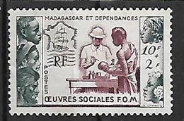MADAGASCAR N°320 NSG - Madagascar (1889-1960)
