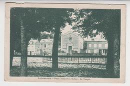CC 093  /  76 ,  LILLEBONNE ,  Place Thimothée Holley -  Le Temple - Lillebonne