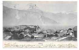"Ollon - Cpa ""précurseur"" 1901 - Edition CORBAZ & Cie, Lausanne - VD Vaud"
