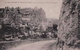 ROCAMADOUR Vu De La Route De Couzon - Rocamadour