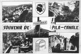 Souvenir De PILA-CANALE - Vues Multiples - N 851 - Photo R. Caujolle, Marseille - France