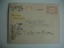 Publicite Medicale Ema Empreinte Machine Affranchir Darmstadt E Merck Deutsches Reich 005 - Storia Postale