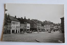 Sarrebourg La Place Du Marche Nb Glacee Photographie Veritable 1956 - Sarrebourg