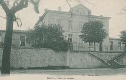 CPA 84  SAULT ECOLE DE GARCONS VOIR ETAT - France