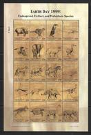 MICRONESIE 1999 ANIMAUX PREHISTORIQUES  YVERT N°645/64 NEUF MNH** - Briefmarken