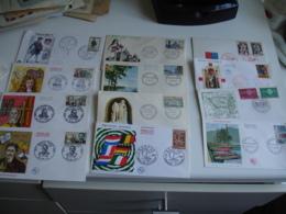 Lot De 88 Fdc Enveloppe 1 Er Annees 60 Voir Photo - FDC