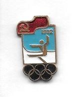 Pin's  Pays, Sport  J.O  D' été  En  ESPAGNE  En  1992 - Olympische Spelen
