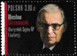 Pologne 2013 Yv. N°4309 - Wieslaw Chrzanowski -  Oblitéré - Used Stamps
