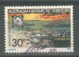 AAT (Australia): 1971   Tenth Anniv Of Antarctic Treaty   SG20   30c     Used - Australian Antarctic Territory (AAT)