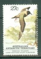 AAT (Australia): 1983   Regional Wildlife (Albatross)   SG55   27c     Used - Used Stamps