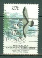 AAT (Australia): 1983   Regional Wildlife (Dove Prion)   SG59   27c     Used - Australian Antarctic Territory (AAT)