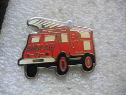 Pin's Des Sapeurs Pompiers De La Commune De ANDLAU (Dépt 67) - Pompiers