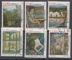 Cuba 1979 Paintings 6v Used (44183) - Cuba