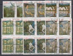 Cuba 1979 Paintings 6v Bl Of 4  Used (44183A) - Cuba