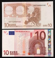 10 €  ITALIA ITALY FDS UNC S J009c1 TRICHET Cod.€.082 - EURO