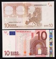 10 €  ITALIA ITALY FDS UNC S J009E4 TRICHET Cod.€.102 - EURO