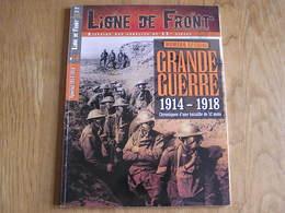 LIGNE DE FRONT N° 14 Guerre Spécial 14 18 Campagne Belgique Ypres Ieper Flandres Somme Artois Verdun Cambrai Poilus - Guerra 1939-45