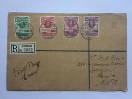 GOLD COAST 1938 George VI FDC - Gold Coast (...-1957)