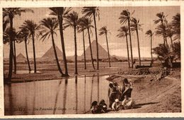 EGYPTE - LES PYRAMIDES DE GIZEH - Gizeh
