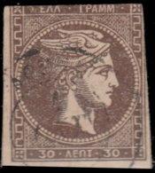 Grèce 1876. ~ YT 41 - Tête De Mercure - ...-1861 Prephilately