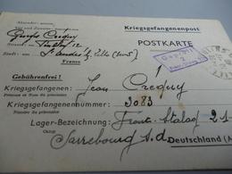 CARTE LETTRE POUR 1 PRISONNIER DE GUERRE AU FRONT STALAG 211 DE SARREBOURG LE 9/12/40 - Historische Dokumente