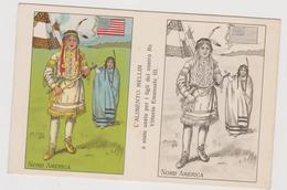 Alimento Mellin , Pubblicitaria, Cartolina Colorabile, Nord America  - F.p. -  Anni '1910 - Pubblicitari