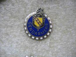 Pin's De La Gendarmerie De La Lorraine - Police