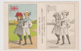 Alimento Mellin , Pubblicitaria, Cartolina Colorabile, Inghilterra  - F.p. -  Anni '1910 - Pubblicitari