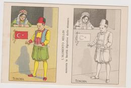 Alimento Mellin , Pubblicitaria, Cartolina Colorabile, Turchia - F.p. -  Anni '1910 - Pubblicitari