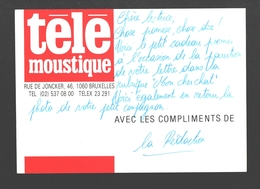 Télémoustique (Moustique) - Carte Publicitaire - 14 X 10 Cm - Publicité