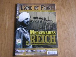 LIGNE DE FRONT N° 16 Guerre 40 45 Waffen SS Mercenaires Reich Malgré Nous Francs Tireurs Staline Panzer Dunkerque France - Guerre 1939-45