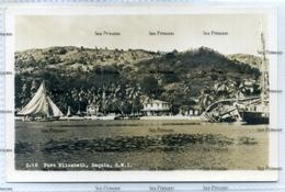 St Vincent Grenadines West Indies Port Elizabeth Bequia 2718 1950s Postcard - Saint Vincent &  The Grenadines