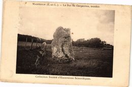 CPA MAINTENON-Le But De Gargantua Menhir (128734) - Maintenon