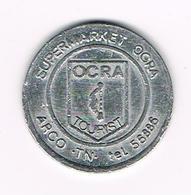 //  GETTONE SUPERMARKET OCRA  OCRA TOURIST ARCO . TN. Tel.56886 - 50 ( LIRE ? ) - Professionals/Firms