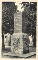 CPA TOURY - Monument Blériot (131487) - Altri Comuni