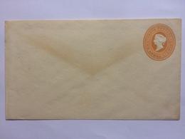 INDIA Victoria Pre-paid Cover 2 Annas 6 Pies Unused - India (...-1947)