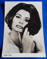 Portrait SOPHIA LOREN # Alte Progress-Star-Foto-AK, Ca. 10 X 14,5 Cm # [19-444] - Schauspieler