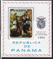 PANAMA - 1968 - SCUOLA PORTOGHESE - FOGLIETTO NUOVO **NH (MICHEL BL 90A) - Arte