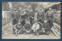 Bordeaux Pessac - Carte Photo De Militaires Du 144e D' Infanterie - Quartier Pessac - Bordeaux