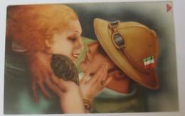 Künstlerkarte, Frauen, Männer, Mode, Soldat, Italien,   1920 ♥ (2268) - Künstlerkarten