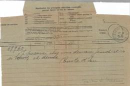 Comte D'Eu : Télégramme De Paris Pour Monseigneur Mayol De Lupe 1912 - Autographes