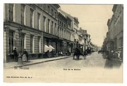 Saint-Nicolas  Sint-Niklaas  Rue De La Station - Sint-Niklaas