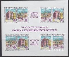 Europa Cept 1990 Monaco  M/s ** Mnh (44187) - 1990