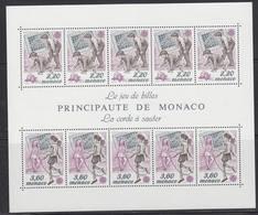 Europa Cept 1989 Monaco  M/s ** Mnh (44187A) - 1989