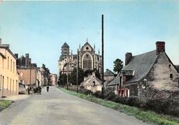 ¤¤   -   SAINT-JULIEN-de-VOUVANTES    -   Vue Sur L'Eglise       -  ¤¤ - Saint Julien De Vouvantes