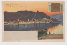 Noli, Olio D'Oliva P. Sasso E Figli Di Oneglia, Pubblicitaria - F.p. -  Primi '1900 - Pubblicitari